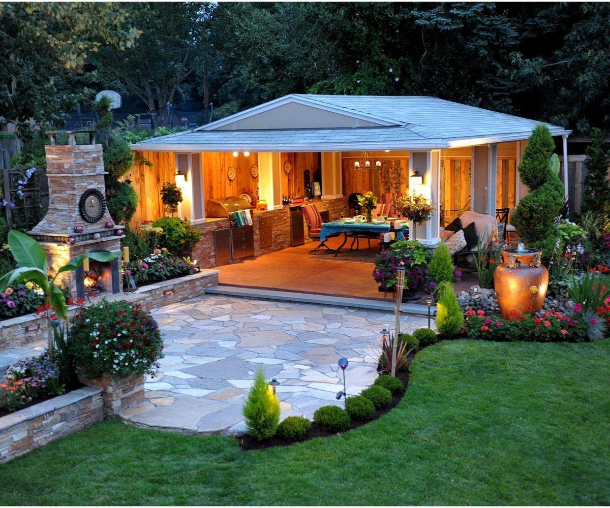 Diy Backyard Design Ideas That Will Refresh Your Landscape This Spring Outdoor Garden Rooms Backyard Patio Backyard Landscaping Designs