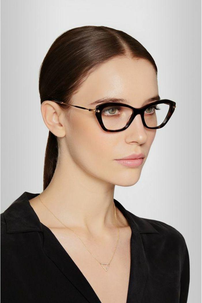 1001 id es pour des lunettes de vue femme les looks appropri s monture lunette femme. Black Bedroom Furniture Sets. Home Design Ideas