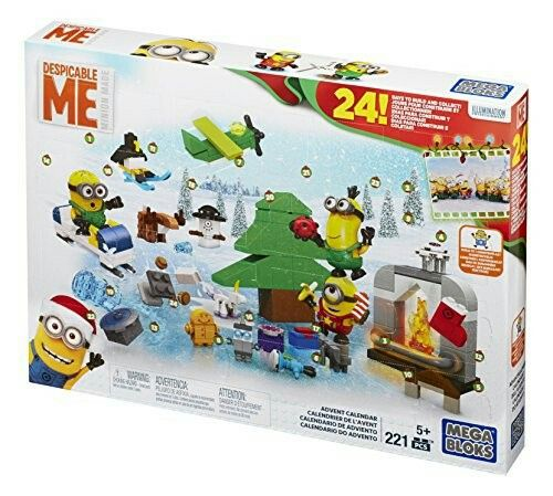 Mattel Mega Bloks Cpc57 Minions Adventskalender Preis Um 20 Advent Calendars For Kids Toy Advent Calendar Minion Movie