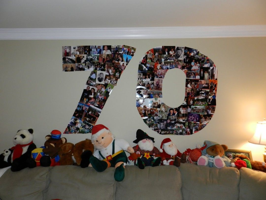 there are a lot of different 70th birthday party ideas
