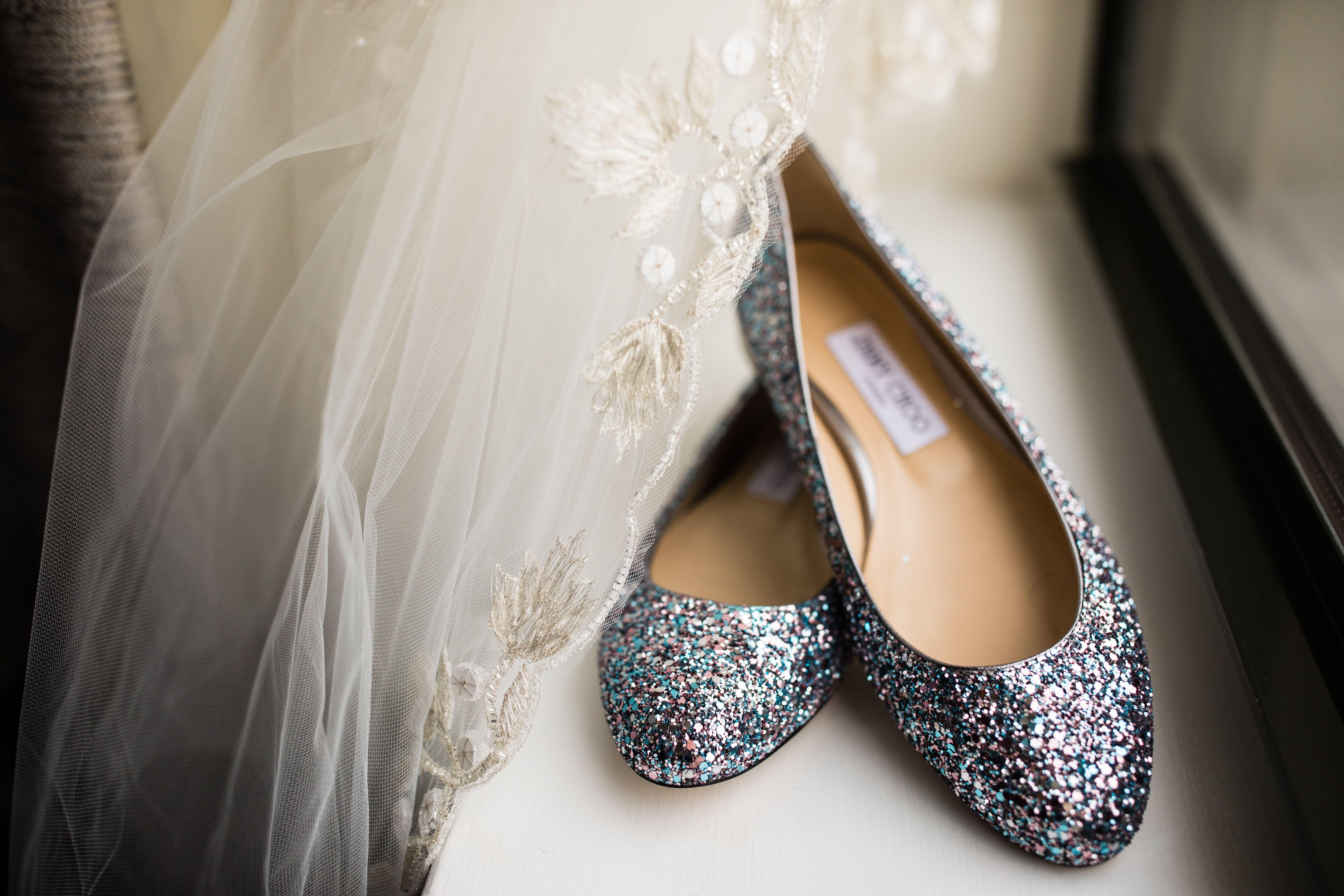 Jimmy Choo Wedding Shoes Kleinfeld Bridal Veil Idoinjimmychoo