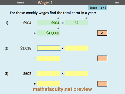 Consumer Arithmetic Electronic Worksheets Mathsfaculty Arithmetic Holiday Pay Education