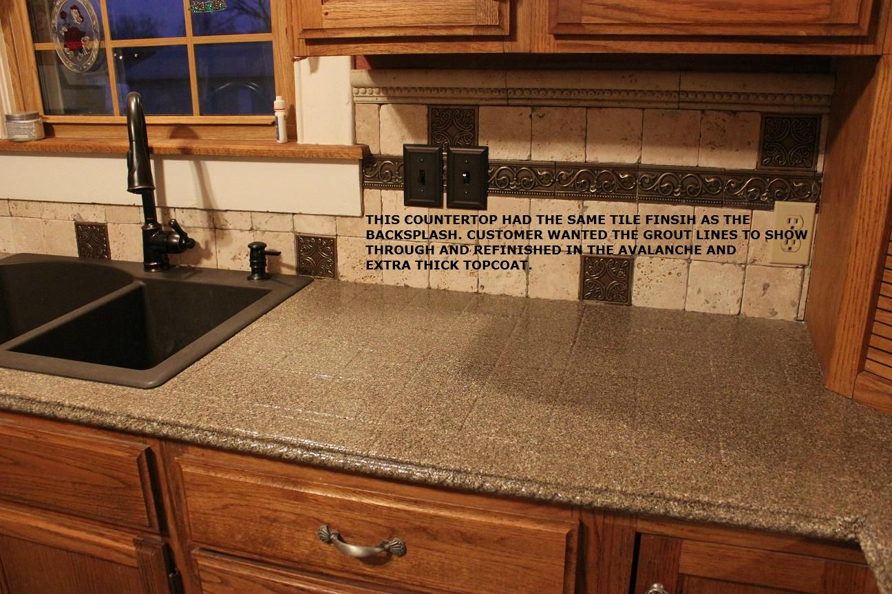 Kitchen Countertop Refinishing Kit Countertop Refinishing Kit