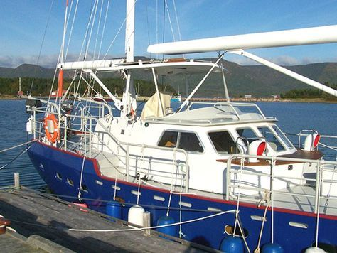2003 Bruce Roberts 52' Steel Ketch Sail Boat For Sale - www