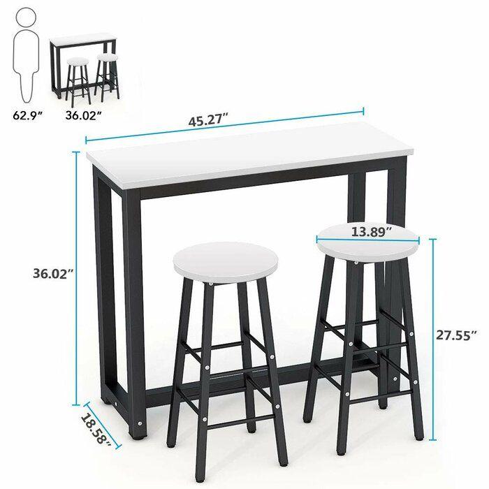45++ Isla 3 piece counter height dining set Trending