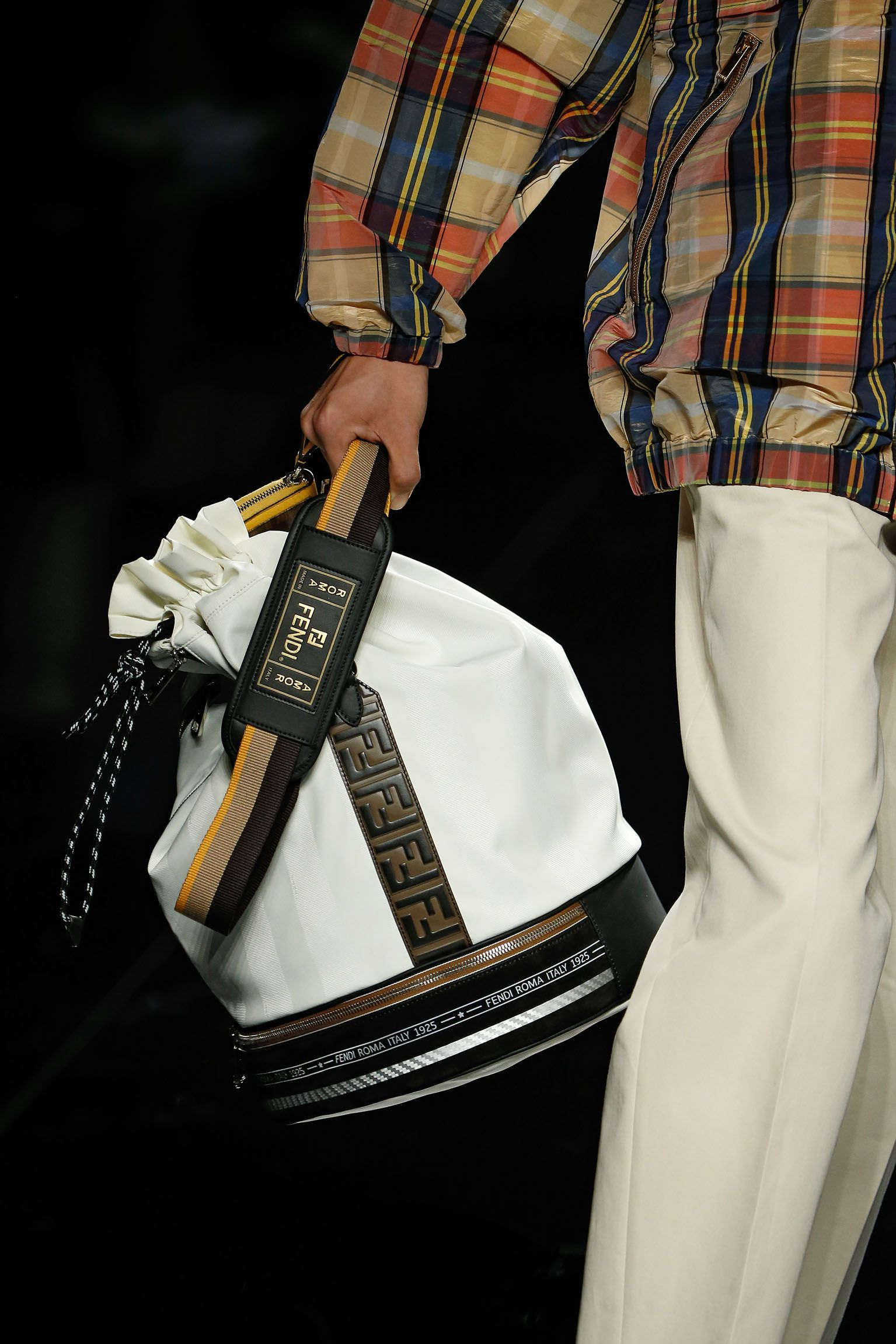 Fendi Men's Spring/Summer 2019 Collection designed by ...