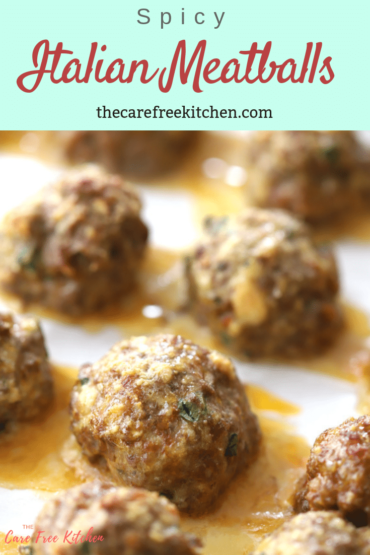 The Most Amazing Spicy Italian Meatballs Are Made With Half Hot Italian Sausag Sweet Italian Sausage Recipes Homemade Italian Meatballs Spicy Italian Meatballs