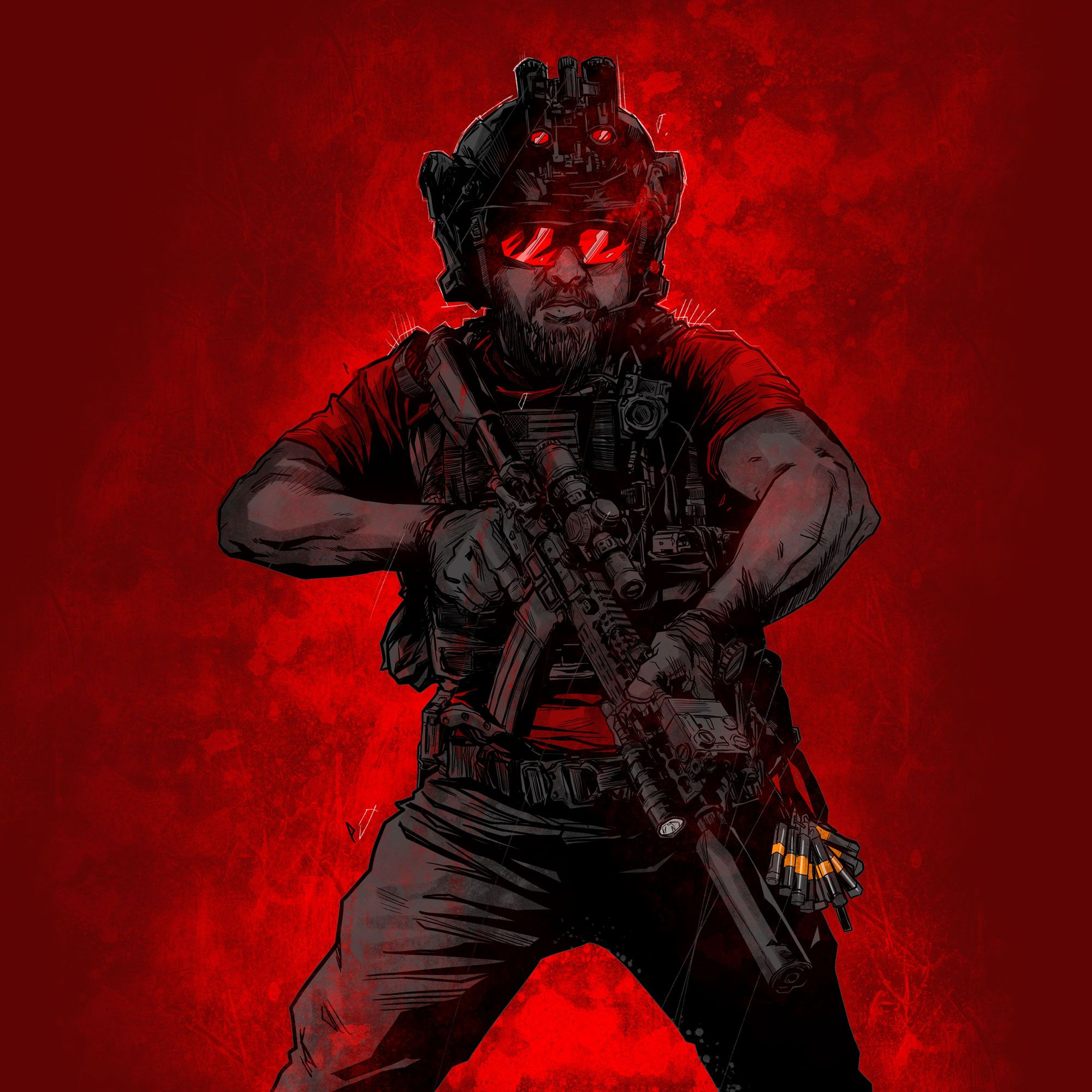 1//6th Scale Black Assault Helmet #1