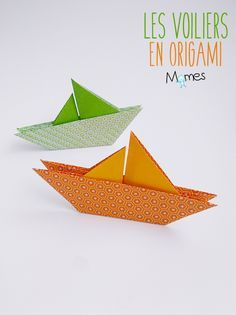 un voilier en origami origami pinterest. Black Bedroom Furniture Sets. Home Design Ideas