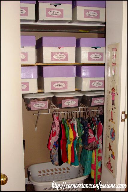 Maximizing Closet Space On A Minimum Budget   Add Shelves And Organize CJu0027s  Closet