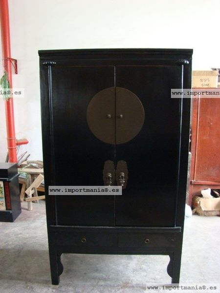 Armario de boda chino negro furniture pinterest - Armario de boda chino ...