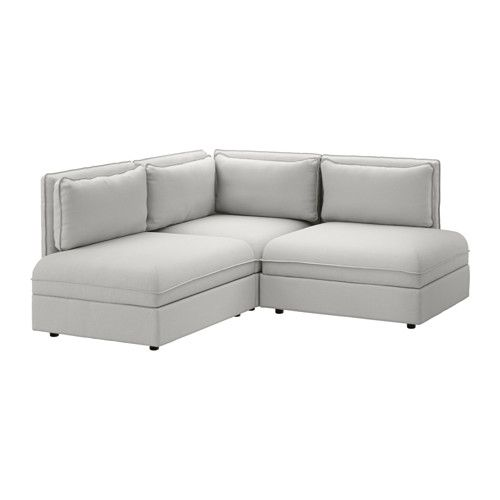 Mobilier Et Decoration Interieur Et Exterieur Vallentuna Ikea Sectional Small Sectional Sofa