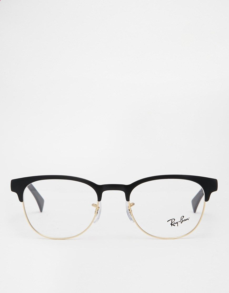 55d4ff8f405d Image 2 of Ray-Ban Clubmaster Glasses 0RX6317