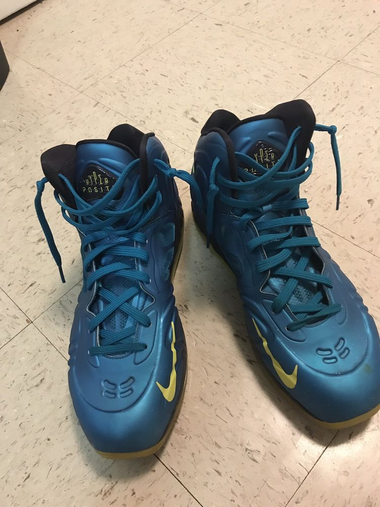 83588551ad0 New Nike Air Max Hyperposite KD Foamposite Shoes Tropical Teal Yellow Size  11.5  fashion  clothing  shoes  accessories  mensshoes  athleticshoes (ebay  link)