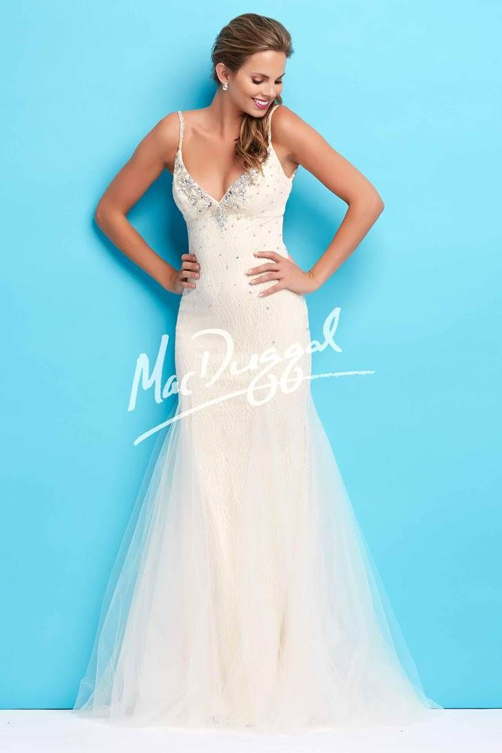 Macduggal 76745 Ivory | Prom Dresses | Pinterest | Ivory and Prom