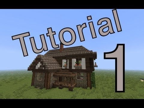 Minecraft tutorial mittelalter haus 1 deutsch youtube minecraft minecraft - Kleines minecraft haus ...