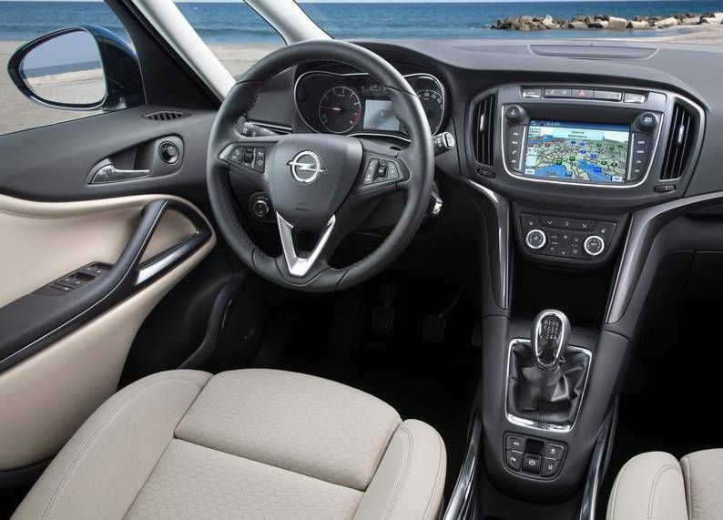 2017 Opel Zafira Facelift Review Specs Price Release Date Opel Holden Astra Vauxhall Corsa