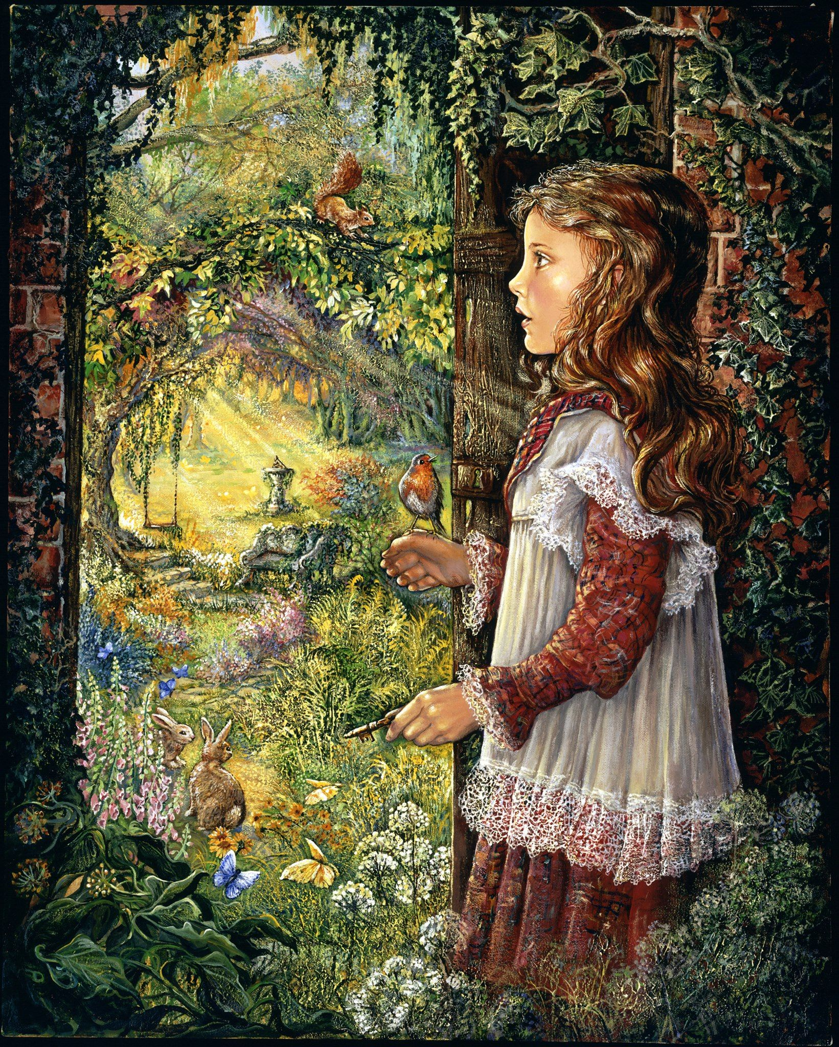 Art For The Garden: Josephine Wall How I Remember My Childhood