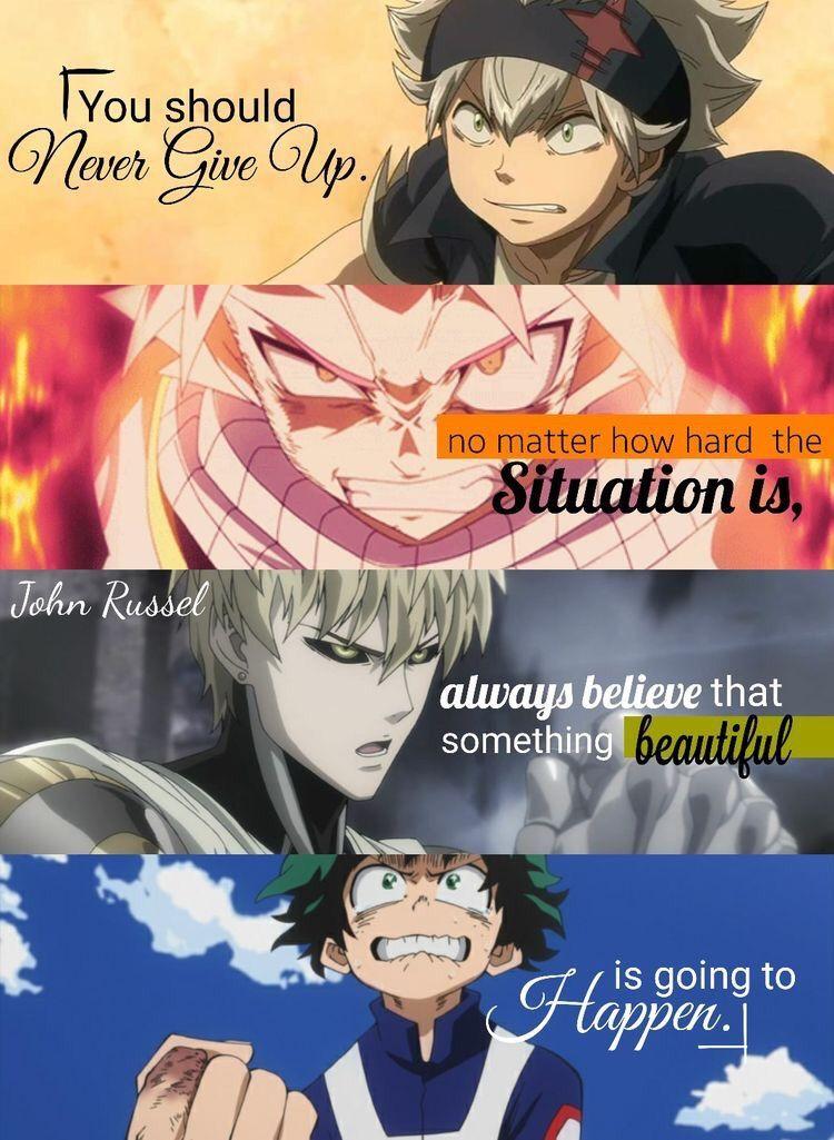 Anime Quotes 𝐓𝐢𝐭𝐚𝐧𝐢𝐚𝐡/titaniah_h Manga quotes, Anime