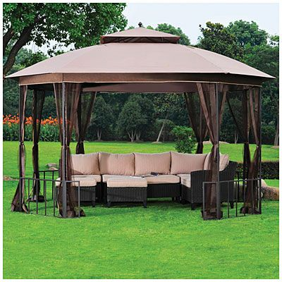 Wilson u0026 Fisher® 11u0027 x 13u0027 Catalina Octagon Gazebo at Big Lots. & Wilson u0026 Fisher® 11u0027 x 13u0027 Catalina Octagon Gazebo at Big Lots ...