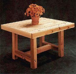 Cedar Patio Table Plans Tables Pinterest Nice Easy And Patio