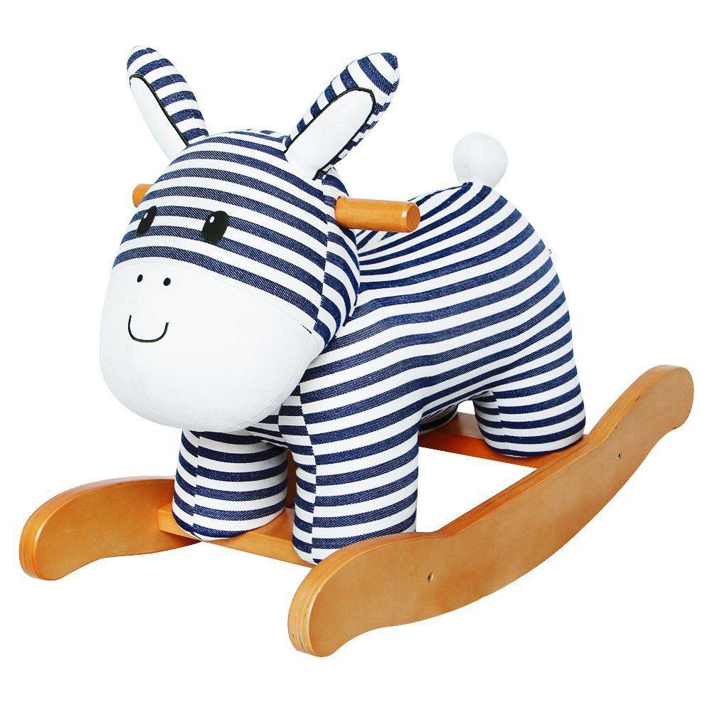 Schaukelpferd Elefant Schaukeltier Plüsch Schaukel Pferd Rocking Toy Animal DHL Holzspielzeug