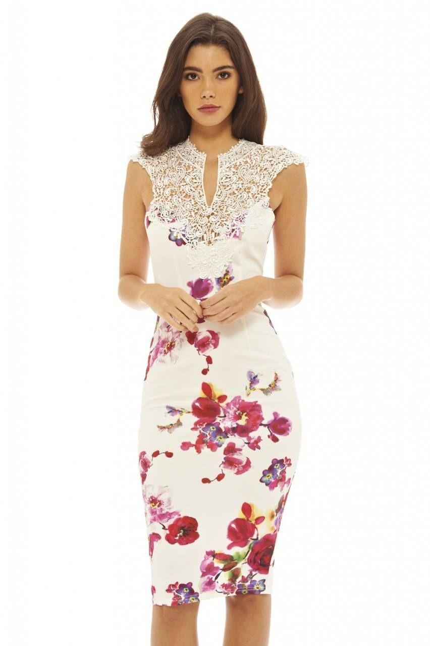 Olowkowa Sukienka W Kwiaty Z Ozdobnym Haftem Ogloszenia Darmowe Bezplatne Sprzedam Kupie Na Adpin Pl Dresses Floral Midi Dress Bright Dress