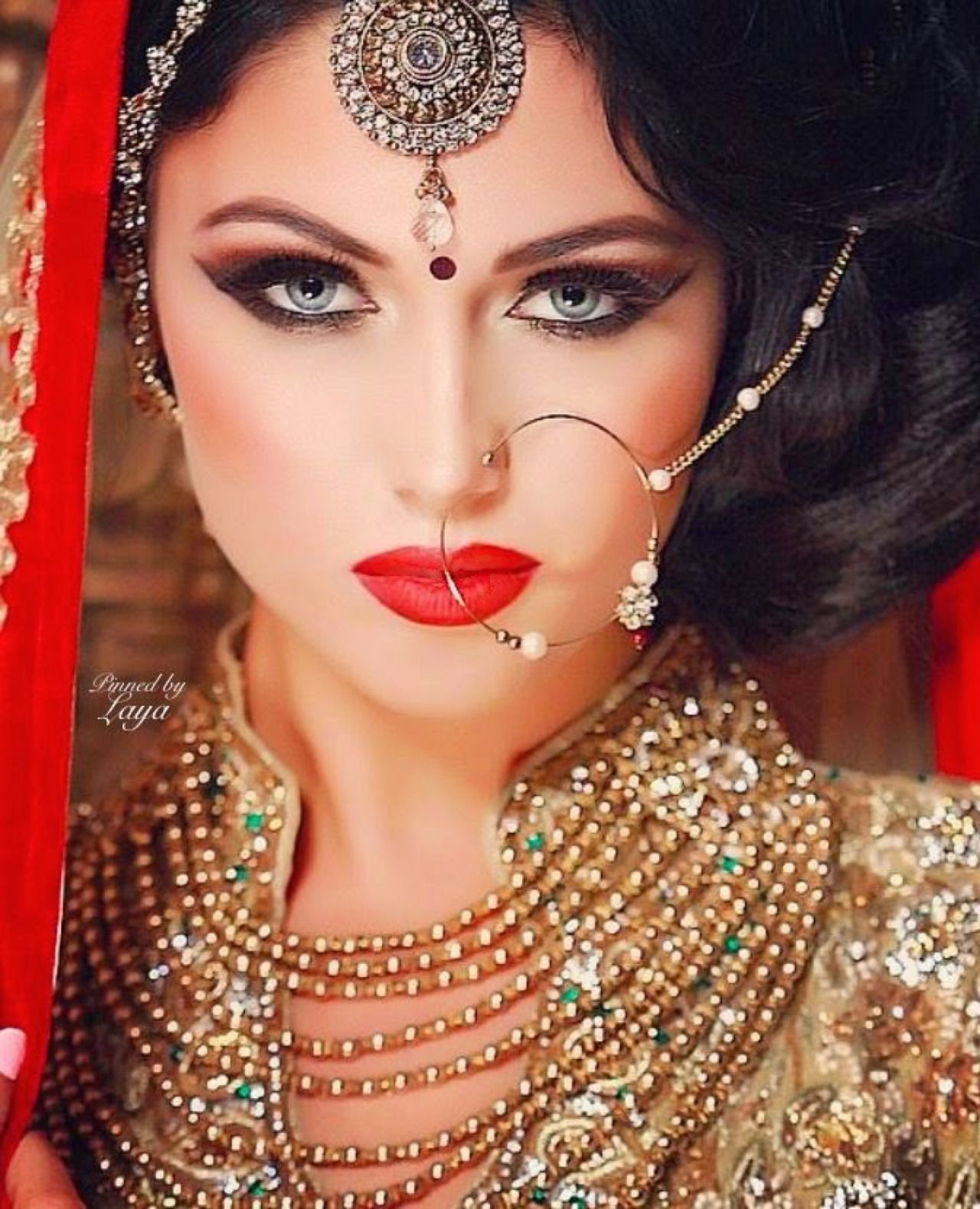 Pin by Sharmin Tahir on Jewelry! | Pinterest | Punjabi bride ...