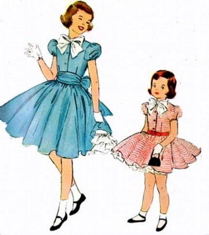 49+ Girls 50s dress information
