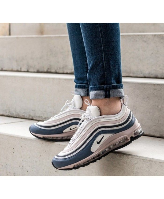 Nike Air Max 97 Vast Grey Obsidian Particle Rose Trainers