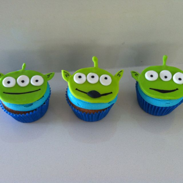 Toy story cupcakes - my next baking challenge!