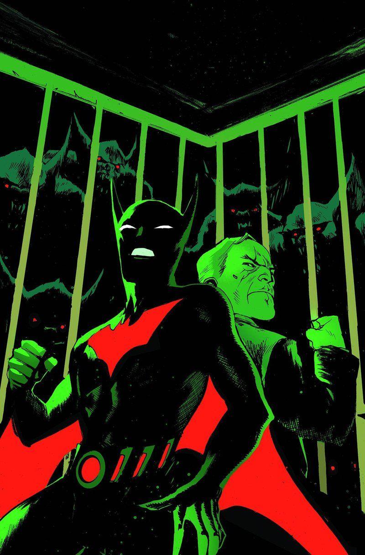 Batman beyond universe 7 batman beyond batman art