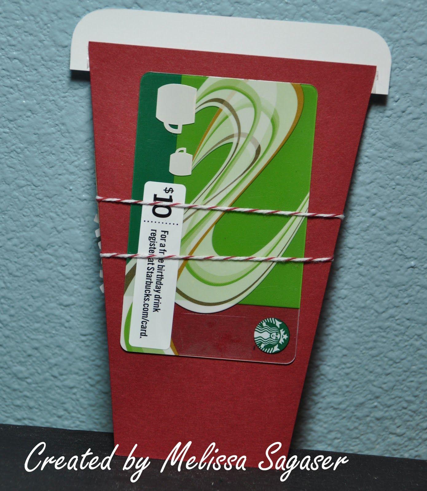 creative treasures  gift card holder starbucks gift card