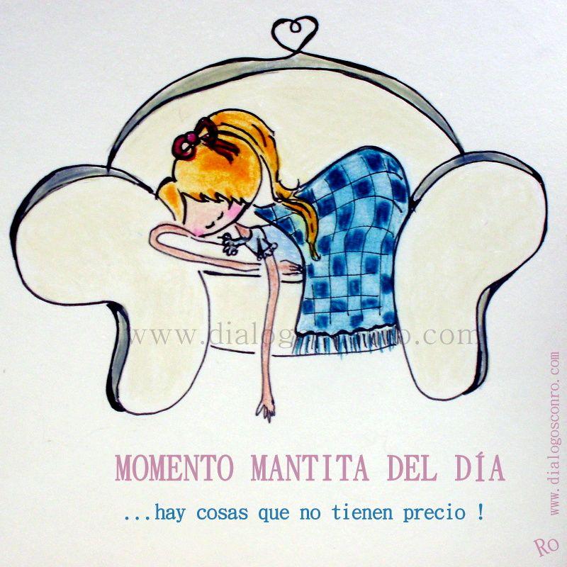 Ilustraciones Dialogos Optimistas Y Mucho Mas Momento Mantita