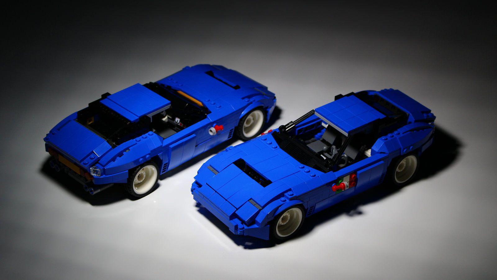 Lego 31070 Alternate Sports Car Lego Lego Creations Lego