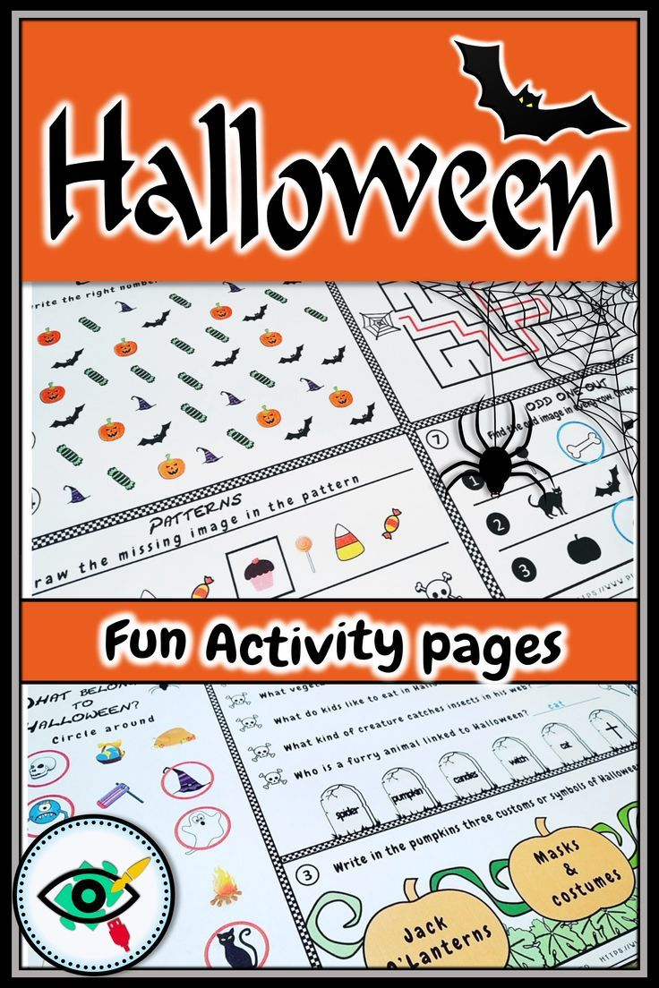 50 Off Especially For Halloween Printable Fun Activities With
