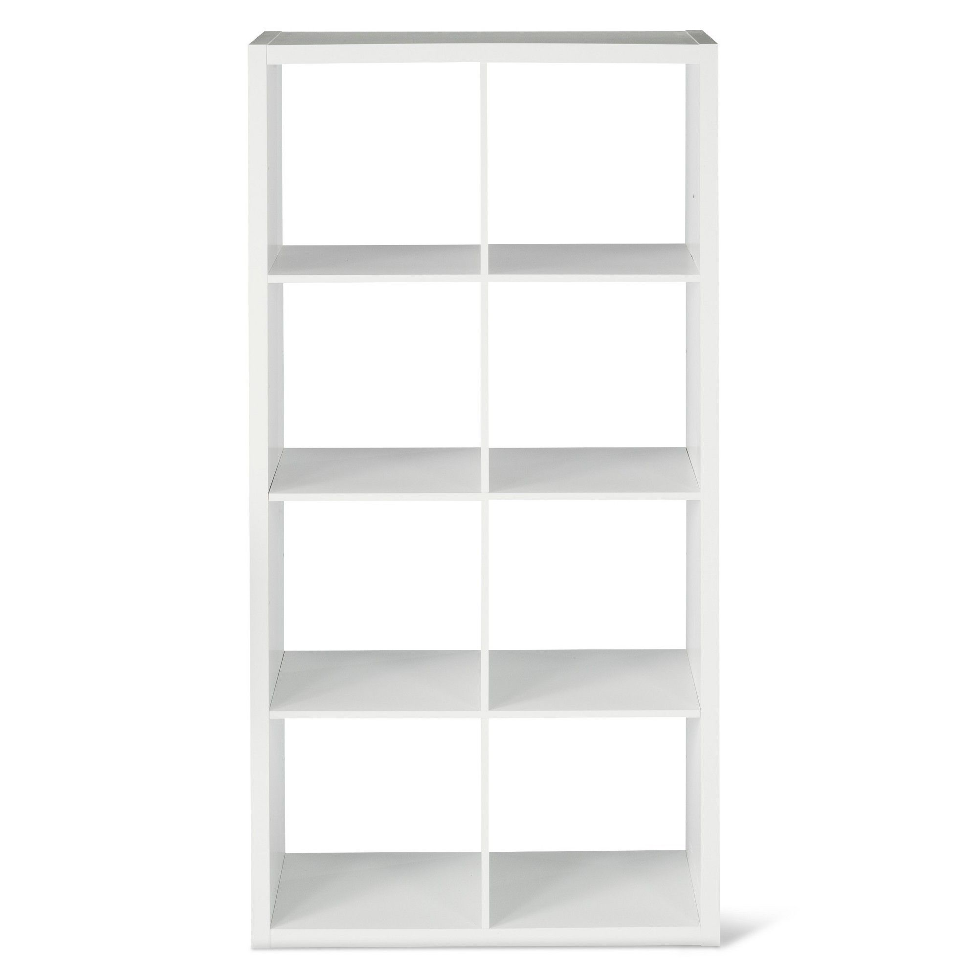 8-Cube Organizer Shelf White 13