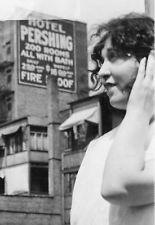 1926 PRETTY LADY PERSHING HOTEL CHICAGO ? IL JAZZ PHOTO
