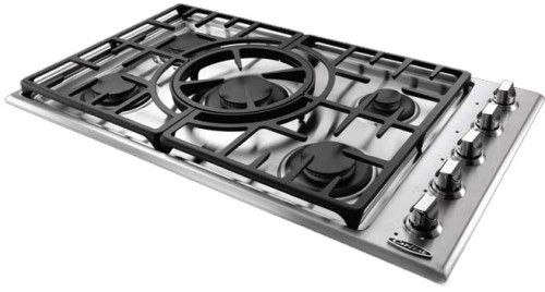 Capital Maestro Series Mct365gsl Gas Cooktop Cooktop Stainless