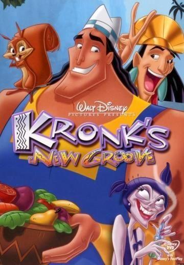 A Nova Onda Do Kronk 2005 Com Imagens Filmes De Animacao