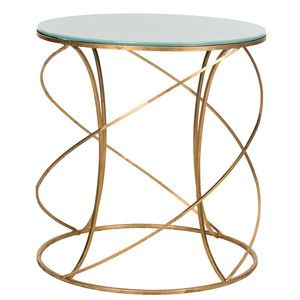 Cagney Accent Table White, now featured on Fab.