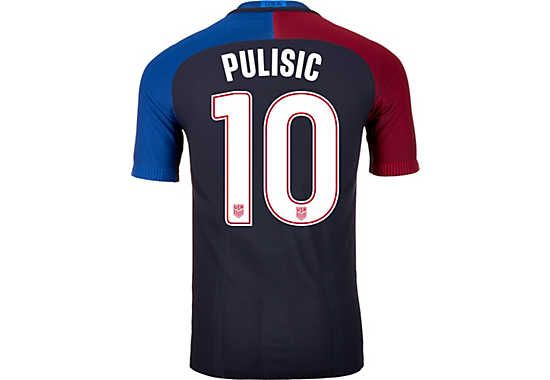 detailed look 90764 05b4a Enjoy the new USA #10. Buy your 2016/17 Christian Pulisic ...