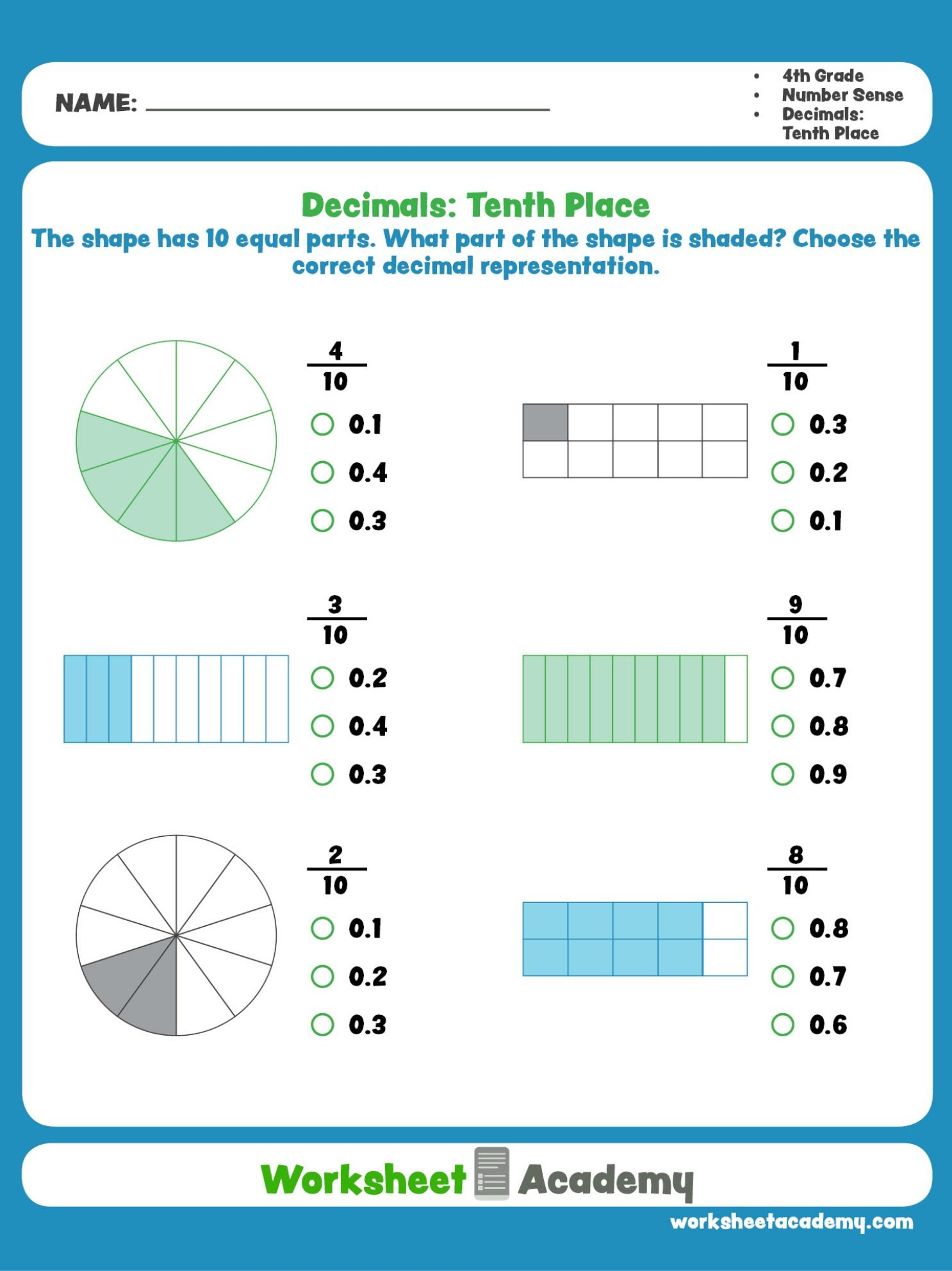 This Worksheet Will Help Students Master And Visualize