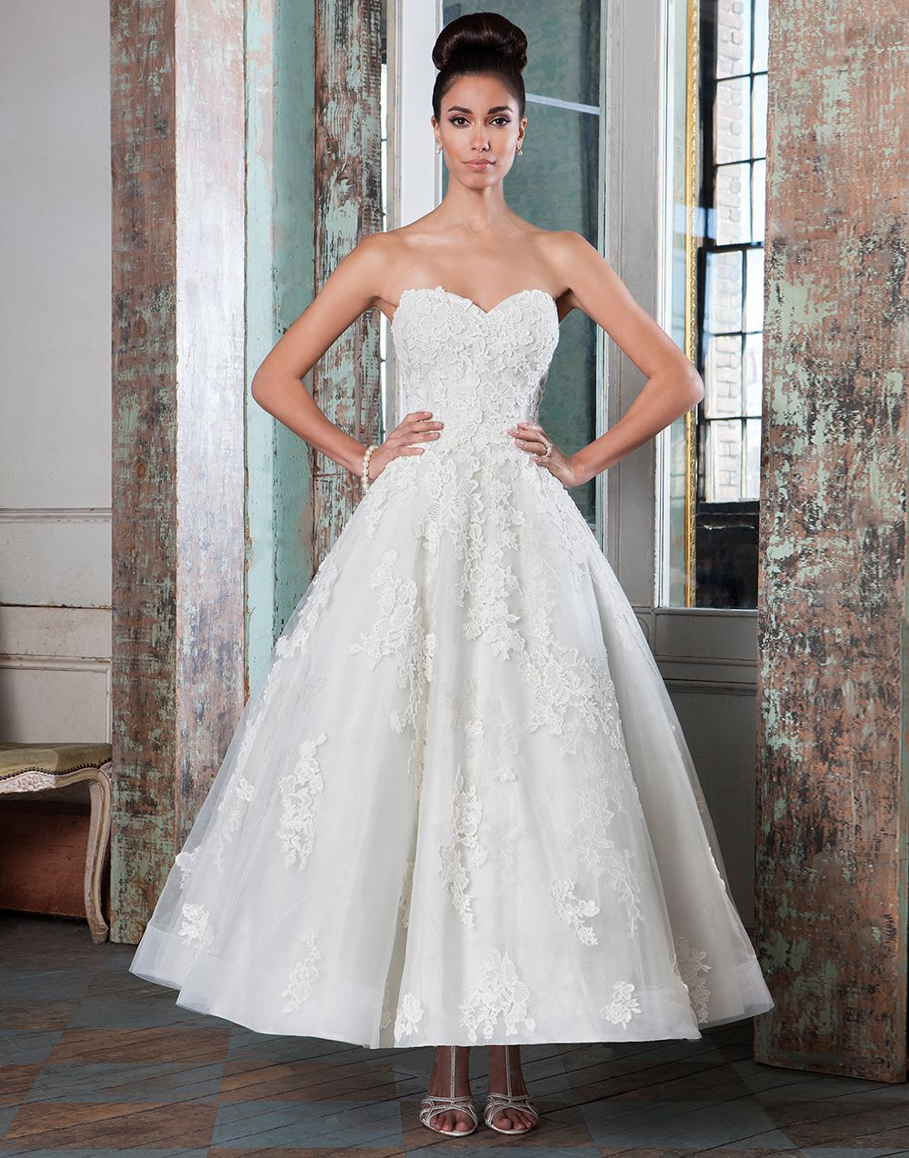 Justin Alexander signature wedding dresses style 9800 | Tea length ...