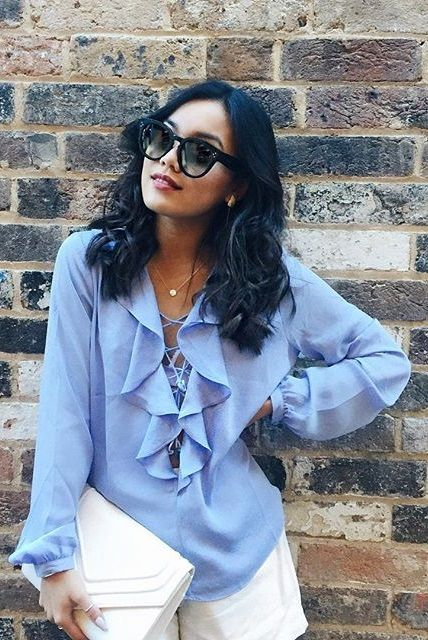 b1e5c7f9d06 Blogger  gigglesndimples with Celine Audrey sunglasses. Find the sunglasses  at http