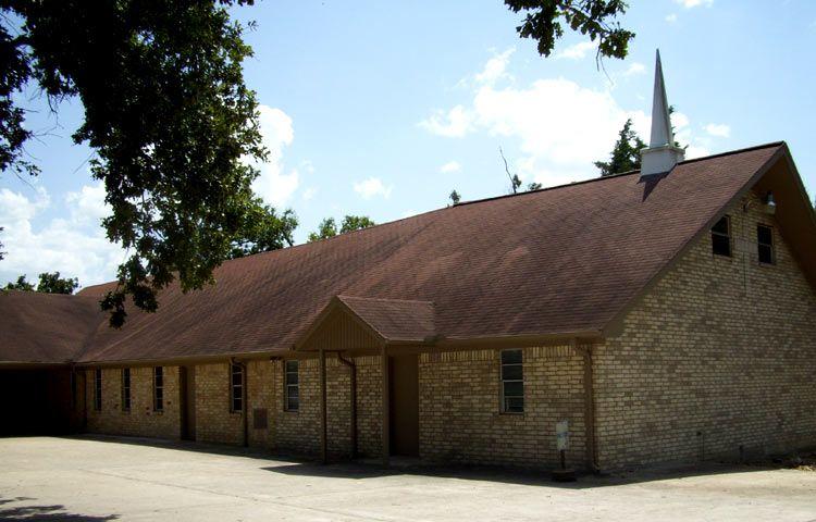 Mt  Zion Missionary Baptist Church  Rebuilt in 1925 under