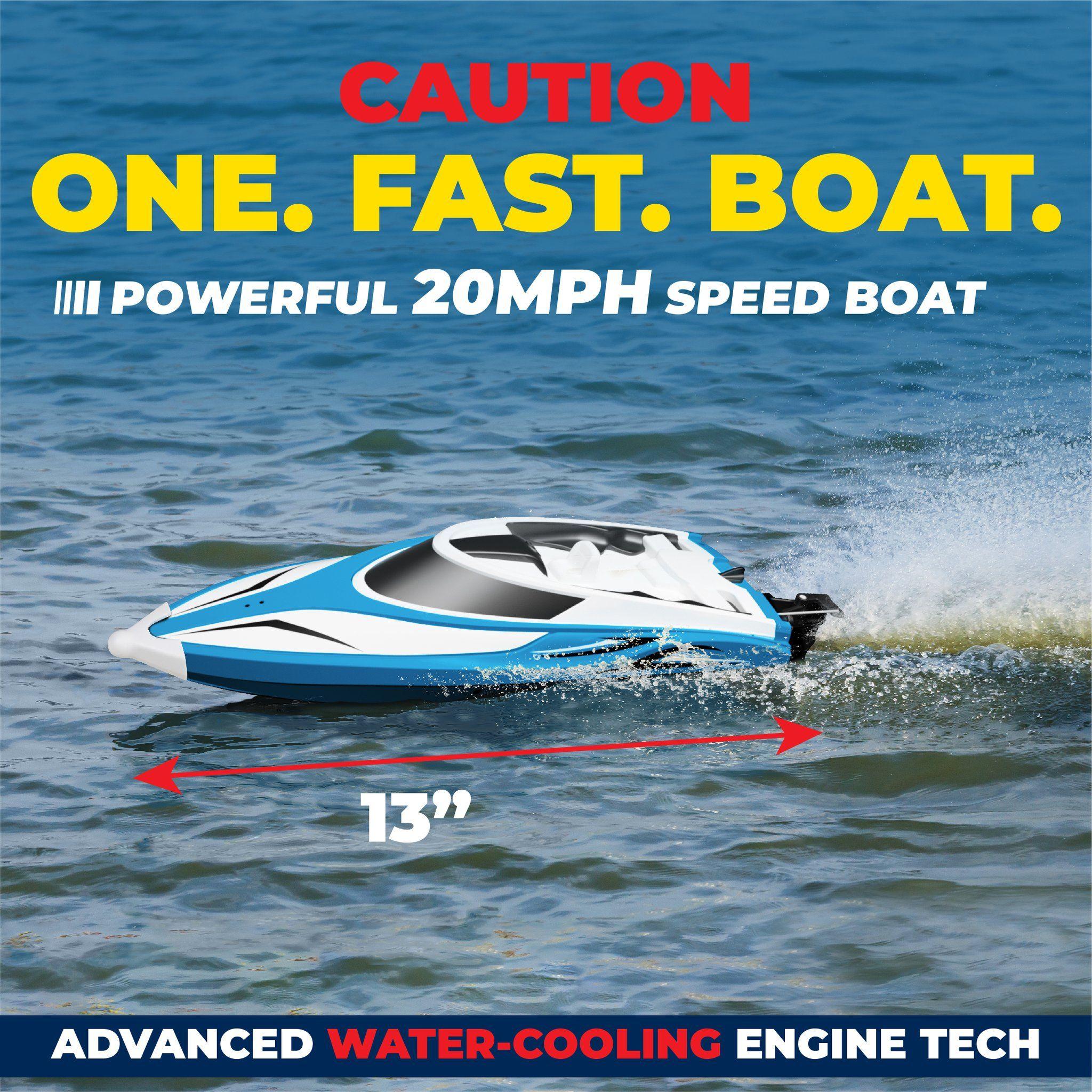 H102 Velocity Remote Control Boat In 2020 Remote Control Boat