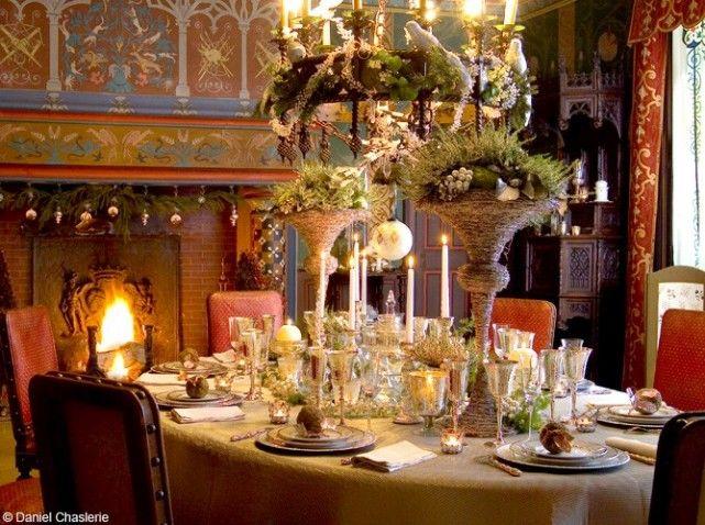 Deco Table Noel Royale Table De Fete Deco Table Noel Table De