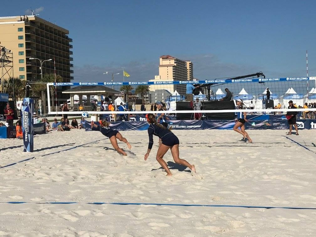 Don T Miss All The Excitement Of Beach Volleyball At The National Collegiate Beach Volleyball Championship Ncaabeachvb Gsobsports Upcoming Events Upcomi