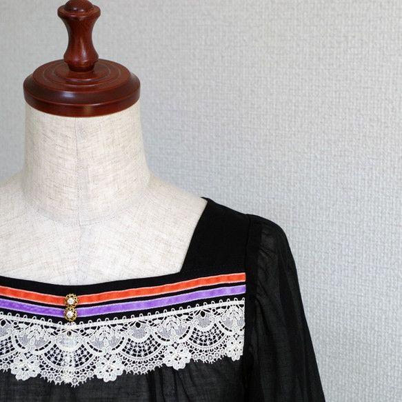 これからの季節にも♪長いシーズンご着用いただける七部袖ブラウスです。どの角度から見ても綺麗に見えるようシルエットにこだわり制作致しました。デコルテを綺麗に見せ... ハンドメイド、手作り、手仕事品の通販・販売・購入ならCreema。
